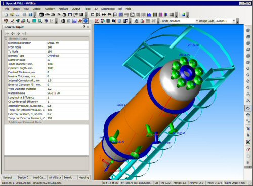 Pv Elite Pressure Vessel Design And Analysis Software